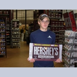 19 - Hershey, PA. Grammy Swisher's spirit lives through Brandon - He has an insatiable appetite for chocolate.