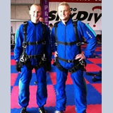34 - Brothers - Sky Diving together. Mom and Dad were thrilled with the prospects of losing both sons in the same day.